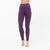 NK Leggings For Women-Dark Purple-NA11064