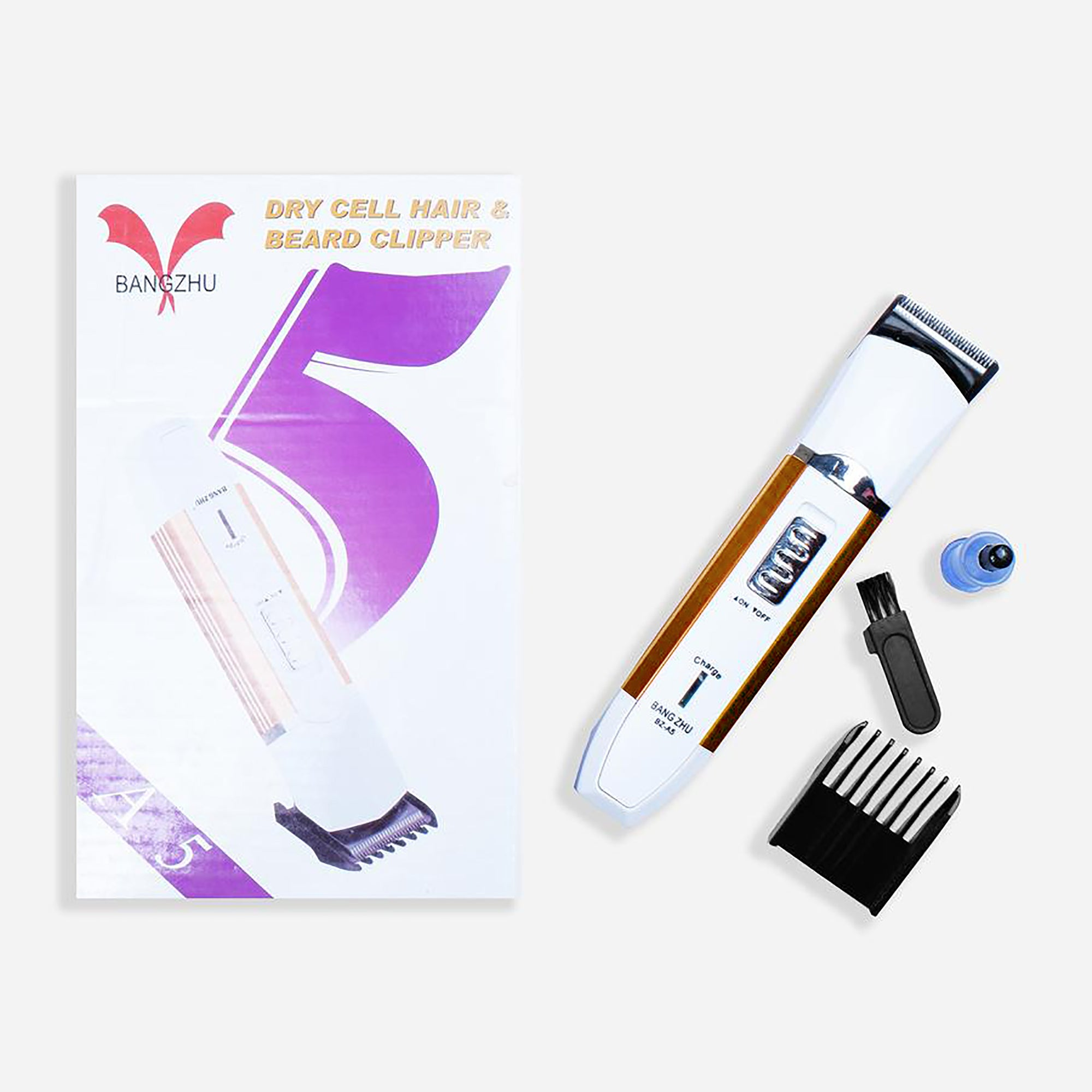 Bangzhu Dry Cell Hair Beard Clipper-SK0372-A5