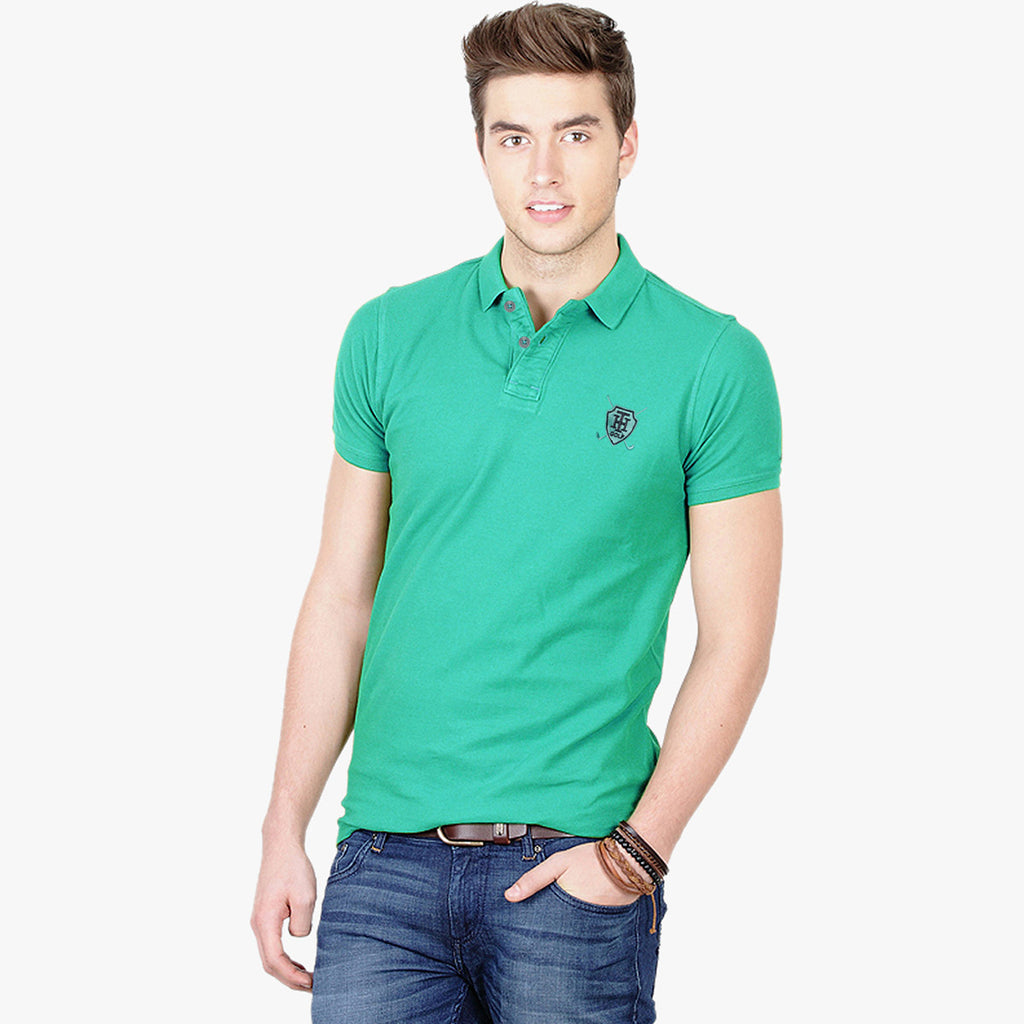 Fat Face Polo For Men Cut Label-Light Sea Green-BE2392