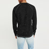Beverly Hills Single Jersey Long Sleeve Tee Shirt For Men-NA8235