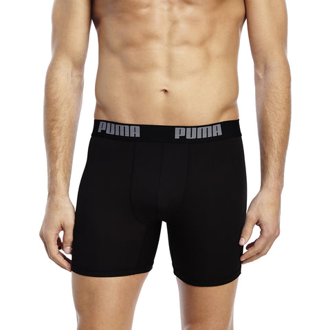 "Men's ""PUMA"" Boxer Shorts -Black- BX909"