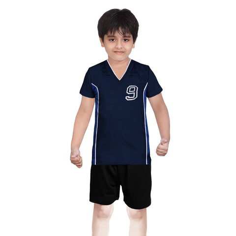 Oliver Duke Sports Suit For Kid-Navy & Black-BE2246