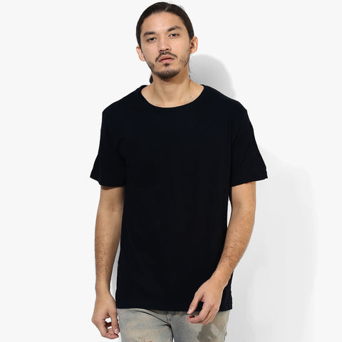 George Crew Neck T Shirt For Men -Black-BE2126
