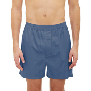 Bob Barker Cotton Boxer Short For Men-Blue-NA5890