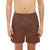 Bob Barker Cotton Boxer Short For Men-Brown-NA5889