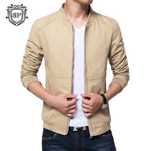 Wine Kh WJ016 Cotton Jacket For Men's By BUSHIRT PATLOON