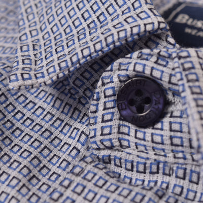 brandsego - Bushirt Patloon SP Casual Shirt For Men-Micro Dotted-NA1135