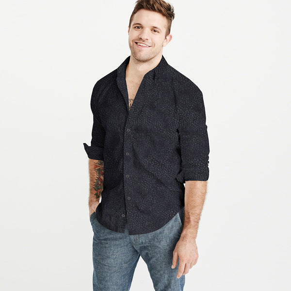 Aeropostale  Exclusive Casual Shirt-Dotted Check-AEPCS01