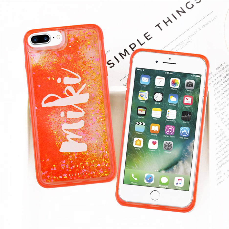 reputable site 35cf7 b3284 Casetify Quicksand Glitter iPhone Case For iPhone 6s Plus/7 Plus-NA7722