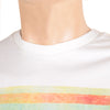 ChenOne Single Jersey Crew Neck T Shirt For Men-White-BE4581