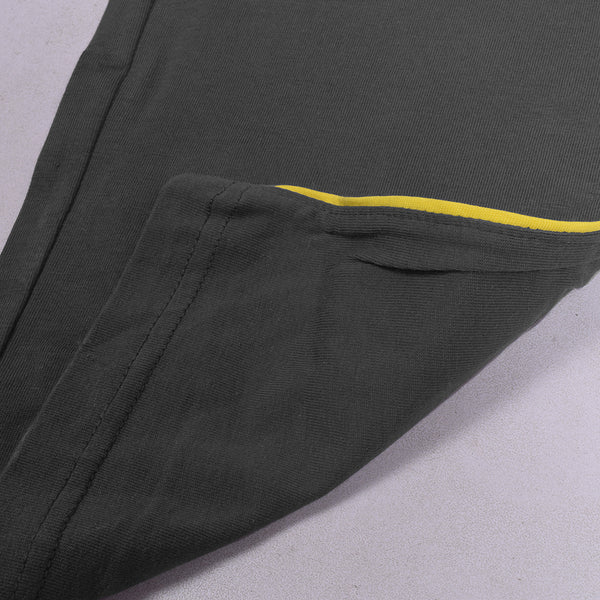 ChenOne Single Jersey Trouser For Men-Gray-NA440