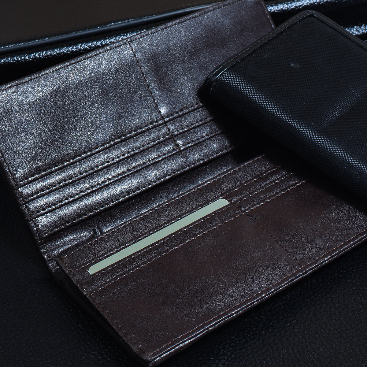 Christion Saymon Leather Wallet For Men-NA8041