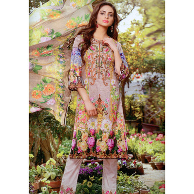 Fateh Collection Circle Digital Original Lawn-NA5182