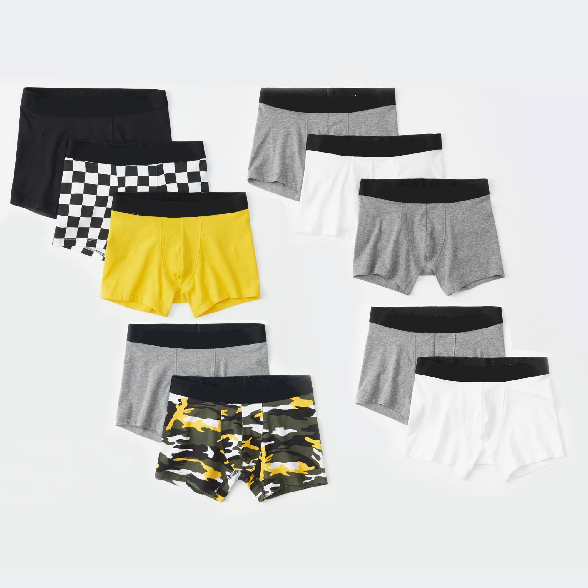 Classic Boxer Shorts For Kids-Assorted-NA7767