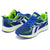 Classic Stylish Sports Lace Up Shoes For Men-Blue & Parrot-NA10837
