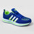 Classic Stylish Sports Lace Up Shoes For Men-Blue & Parrot Green-NA10839