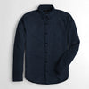 brandsego - Zara Man Premium Slim Fit Casual Shirt For Men-Navy-NA9445