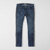 Conbipe Slim Fit Non Stretch Side Stripe Denim For Men-(S8)-Navy Faded-NA9387