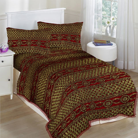 New Tilla Exclusive Jaquard Bed Sheets-TJBS05
