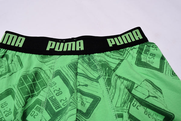 "Men's ""PUMA"" Boxer Shorts -All Over Printed- PBX01"
