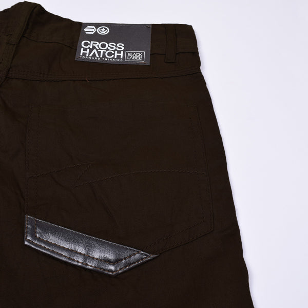 "Men's ""Cross Hatch"" Stylish Chino Cotton Denim-CCD11"