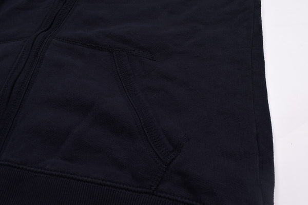 "Men's Cut Label ""Fat Face"" Stylish Zipper Hoodie -Navy-H01"