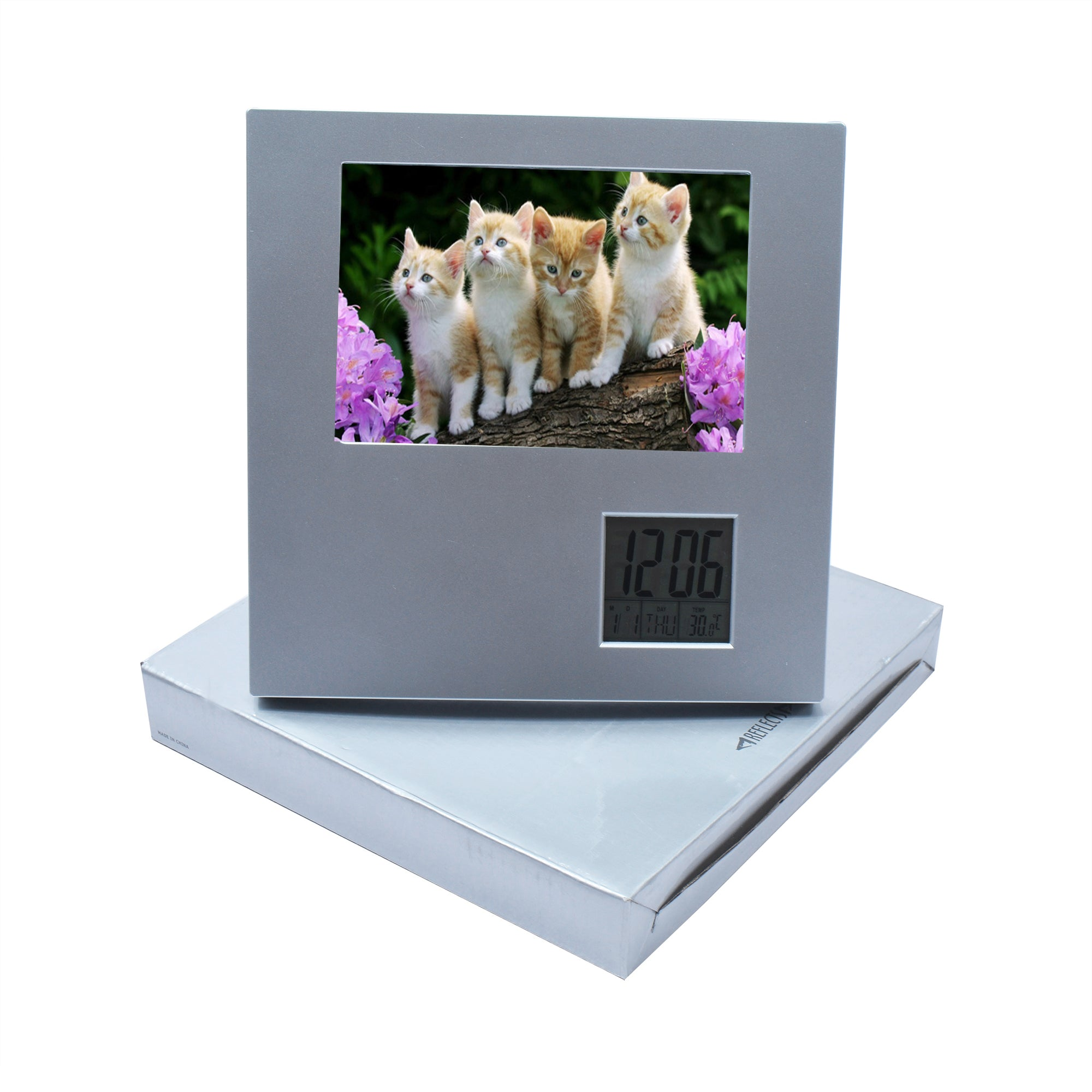 Reflect Picture With Clock-SK0035