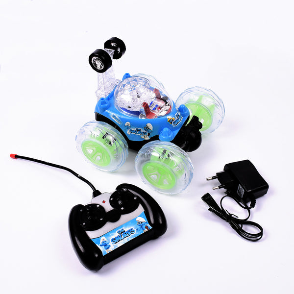 RC Smurfs Chargeable Stunt Car- TA002