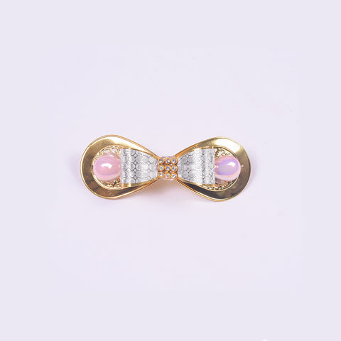 "Ladie's ""Hair Clip Silver""- BE351"