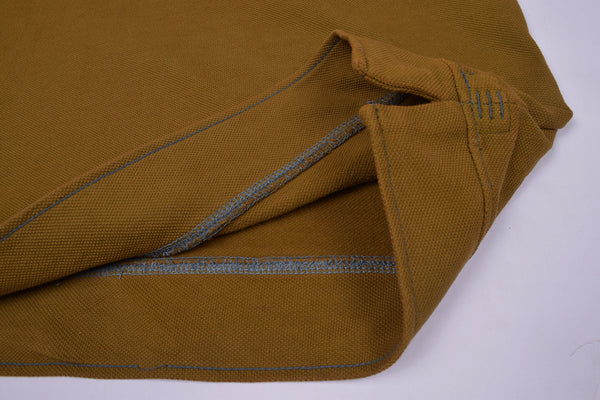 "Men's Cut Label ""Rautical Supply "" 1/3 Zipper Mock Neck-Olive - RS025"