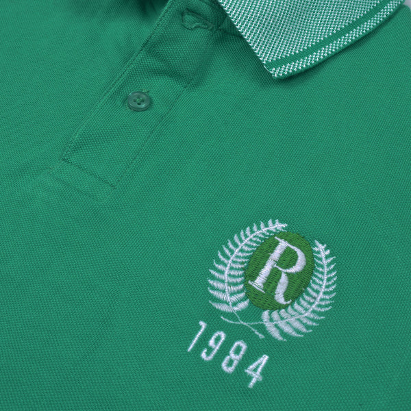 Next Polo For Men Cut Label-Green-BE2522