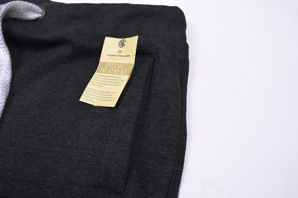 "Men's ""Tom Tailor"" Stylish Charcoal Ragular Fit Fleece Trouser-TTT40"