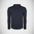 "Men's Cut Label ""F&F"" 1/3 Zipper Mock Neck-Dark Navy- F&F01"