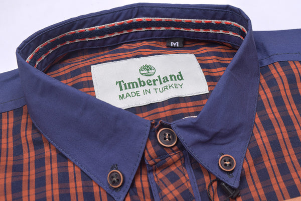 "Men's ""Timberland"" Exclusive Ak M Cotton Shirt-0268"
