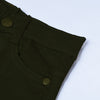 & Denim Slim Fit Denim For Kids-Olive Green-NA10913