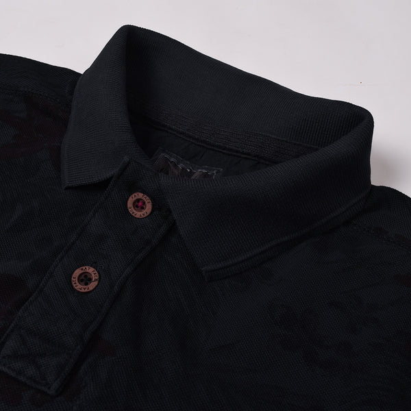 Fat Face Polo Shirt For Men Cut Label-Dark Navy-BE690