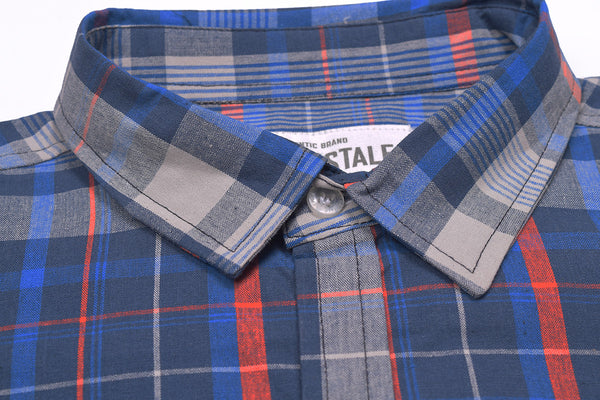"Men's ""Aeropostal"" Exclusive Ak M Cotton Shirt-0271"