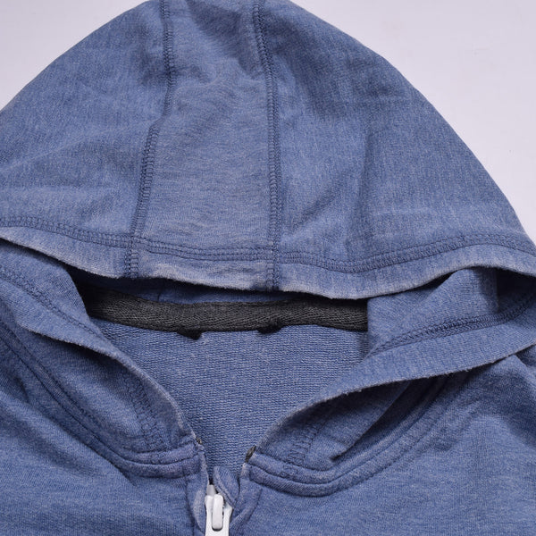 "Kid's Cit Label "" Fat Face "" Zipper Hoodie-Sky-KH002"