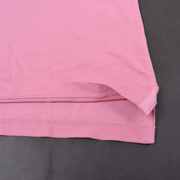 Men's Fat Face Cut Label Stylish Polo Shirt-Light Pink-FF0558