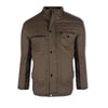"Men's ""Yanshuangying"" Fashion Stylish Katrai Jacket-Burnt Brown-MLJ06"