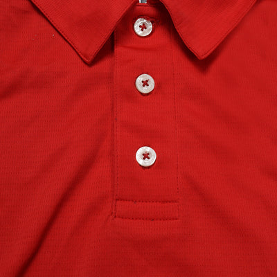 KUKRI Stylish Polo Shirt For Men- Red -BE1024