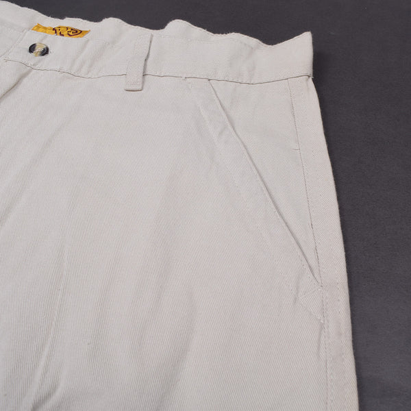 "Men's ""North 15"" Cotton Cargo Short-Light Golden Rod Yellow"