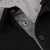 M&S Single Jersey Polo Shirt For Men-Black-NA838