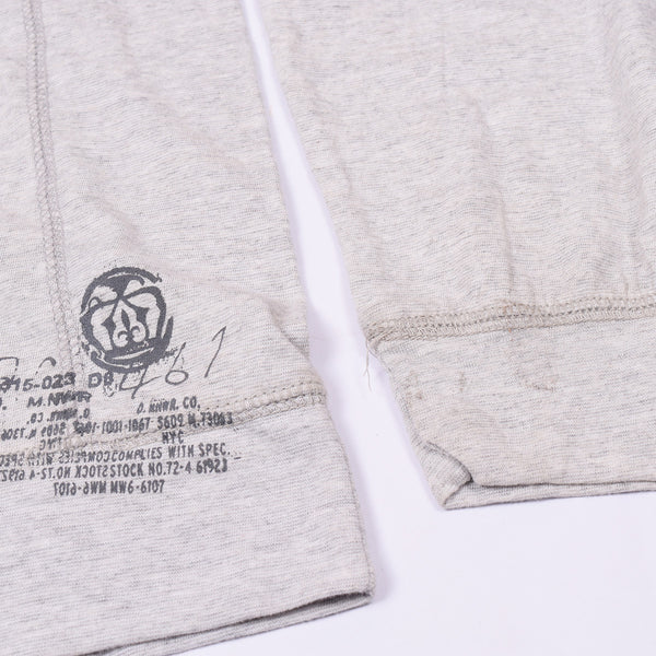 "Men's ""NEXT""Pull Over Singal Jersey Hoodie-Off White- BE644"