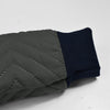 Tommy Hilfiger Quilted Zipper Hoodie For Kids-Dark Grey-NA9904