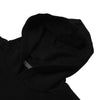 Next Fleece Pullover Hoodie For Men-Black With Panel-NA10617