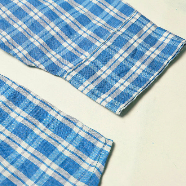 Old Navy Exclusive Casual Shirt-Blue & White Check-ONCS06