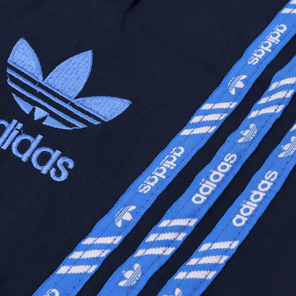 Adidas Cotton Trouser For Men-Dark Navy With Blue Stripes-BE2235