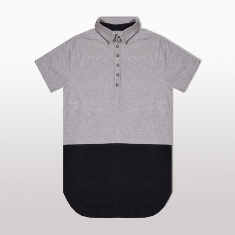 Fat Face Polo Shirt For Men-Gray & Black-BE2047