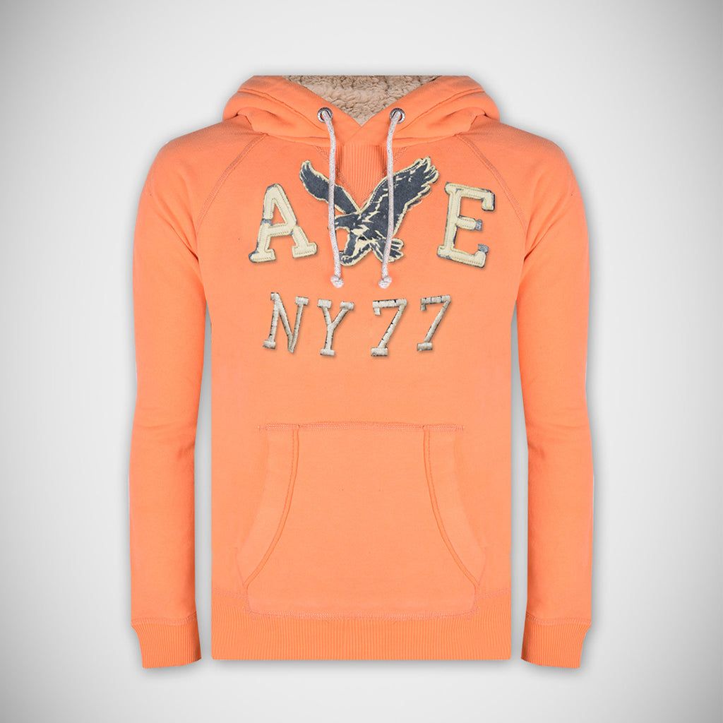 AMERICAN EAGLE Pullover Hoodie For Men-Orange-AEH02